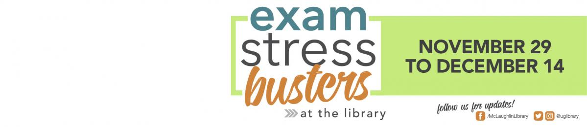 Exam Stress Busters banner