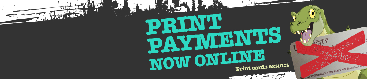 Print payments now online