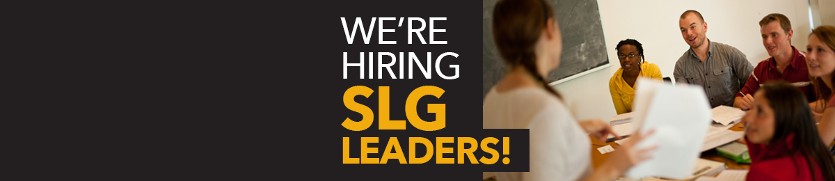 The McLaughlin Library is hiring Supportive Learning Group leaders.
