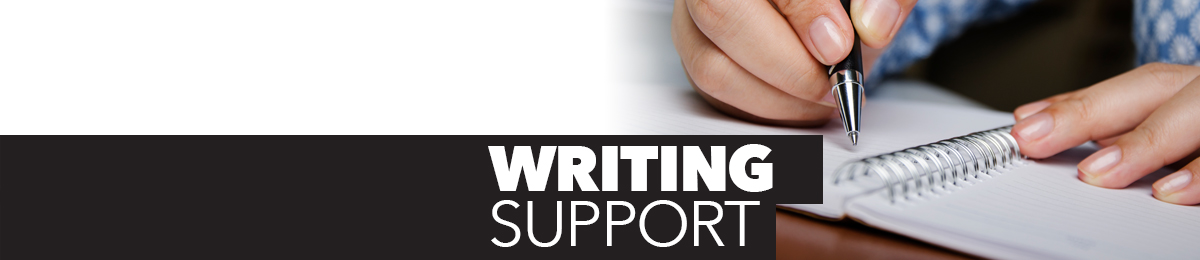 Writing Support.