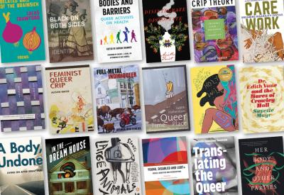 Selection of book covers from the Pride 2021 collection