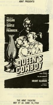 Cover of NWDT's house program for Queen's Cowboy 1980