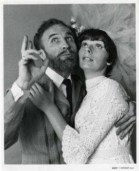 Barry Morse and unknown actress