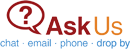 Ask Us Logo and link to Ask Us