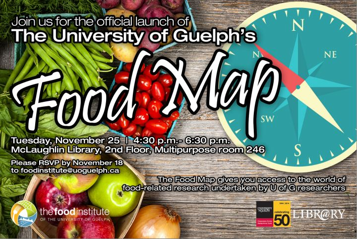 Food Map Event Flyer