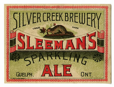 Vintage Silver Creek Brewery label XR1 MS A801 (Box 1, File 2)