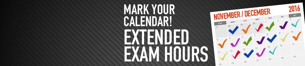Extended Exam Hours