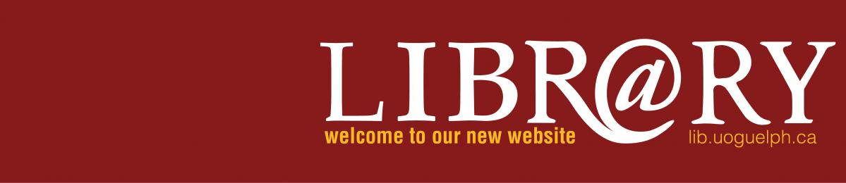 Library website launch Logo